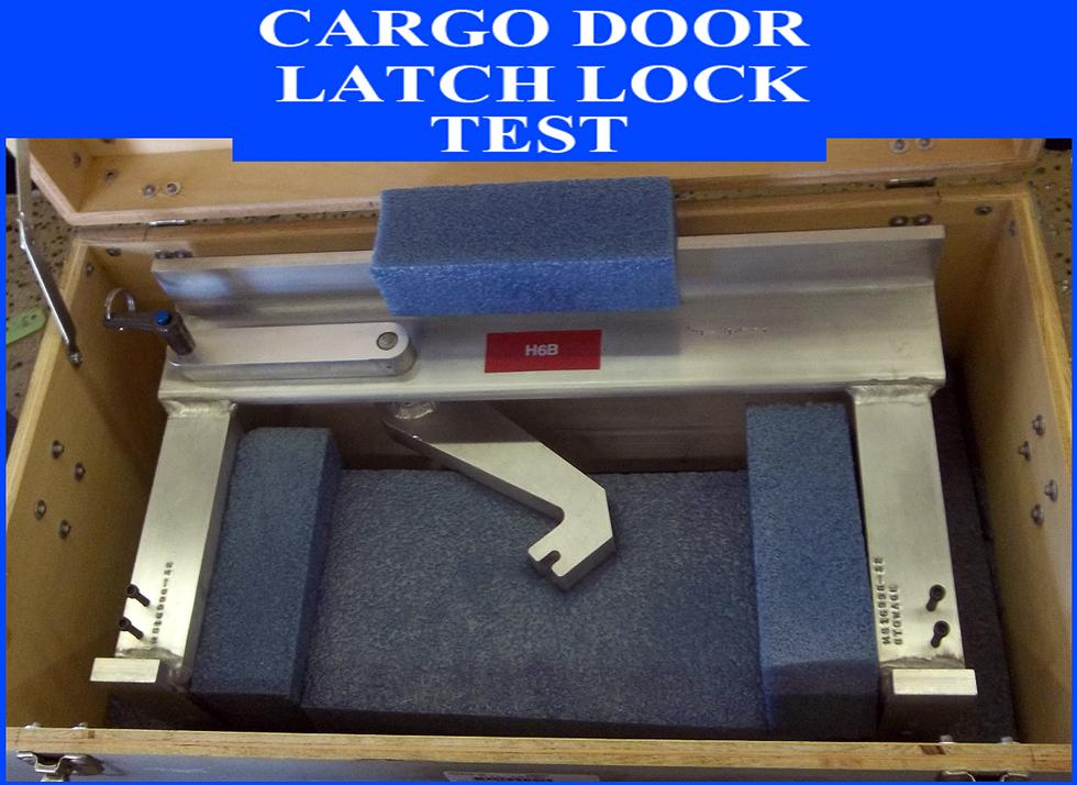 767 Cargo Door Test Equipment & 767 Cargo Door Test Equipment - Things for Aircraft Support Inc